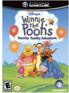 Winnie the Pooh's Rumbly Tumbly Adventure Nintendo GameCube/Wii Kids Game Rare!