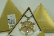Swarovski Christmas SCS Gold Ornament-2012 Large Star Certificate Lost - 1139970