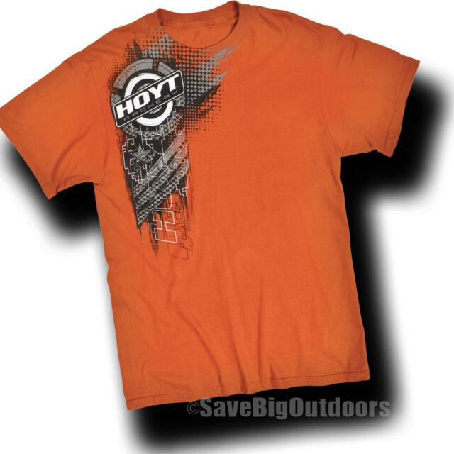 M MD HOYT Orange Digital Shirt T-Shirt Tee S/S Carbon Spyder Faktor 372905