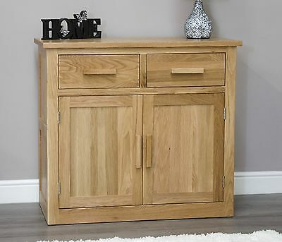 Arden solid oak living dining room furniture small storage sideboard buffet