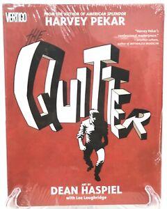 The-Quitter-Harvey-Pekar-American-Splendor-Vertigo-Comics-HC-New-Sealed