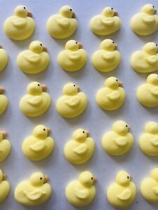 24-Sugar-Icing-Easter-Duck-Chick-Cupcake-Toppers-Decorations-Cakes-Sugar-Treats
