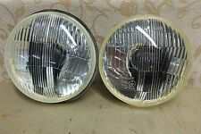 2 NOS OEM CARELLO 565 HEADLIGHT UNIT FIAT 131 Racing Mirafiori Ritmo 124