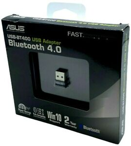 NEW ASUS USB-BT400 USB Adapter w/ Bluetooth Dongle Receiver, Laptop & PC Support