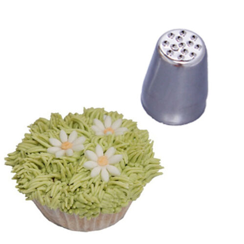 Grass Hair Icing Piping Nozzle Tip Cupcake Cake Decorating Pastry Tip Tool DSUK
