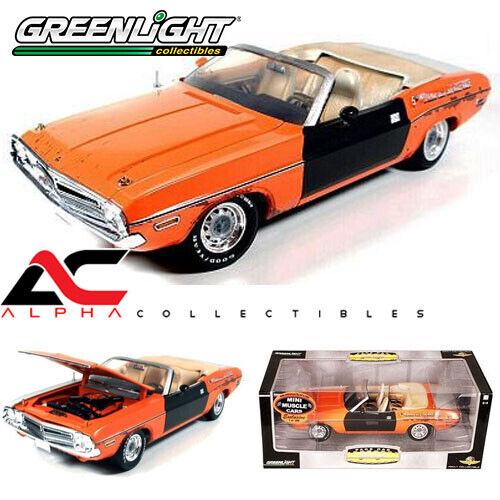 GREENLIGHT 50816 1 18 1971 DODGE DODGE DODGE CHALLENGER INDY 500 PACE CAR UNRESTORED 1 300 3b87bd