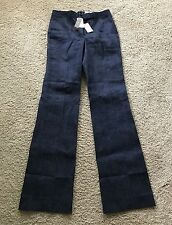 J Crew Collection Preston pant in Japanese denim Sz 2 Indigo Trouser NWT