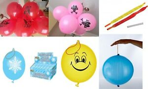 Punch Balloons Pearlised Coloured Balloon PARTY BAG POCKET MONEY