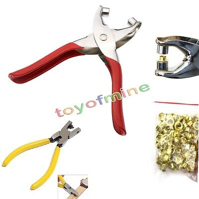 Eyelet Pliers / Hand Leather Strap Watch Band Belt Tool Hole Punch Pliers Tools