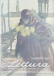 Rivista-La-Lettura-N-11-Novembre-1920-Copertina-Dudovich