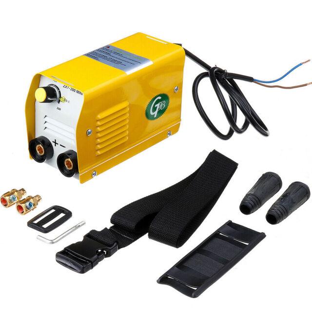Mini Electric Welding Machine miniGB ZX7-200 220V 200A DC Inverter Stick Welder