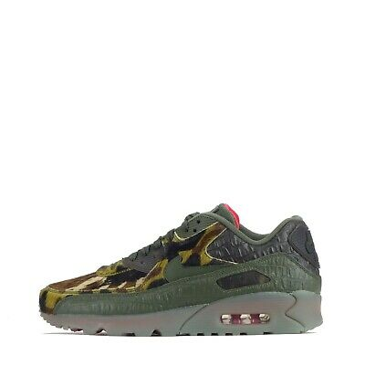Details zu Nike Air Max 90 Camo Croc Men's Trainers Shoes Limited Edition Cargo Khaki