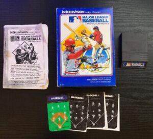 Major League Baseball (Intellivision, 1980) Video Game *SHIPS SAME DAY*
