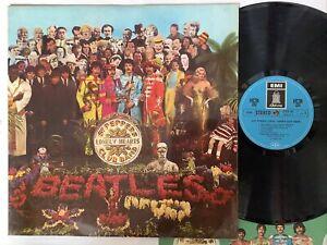 The BEATLES sgt pepper's German 1969 Hörzu SHZ 401 Vinyl EX GaefoldCover EX+