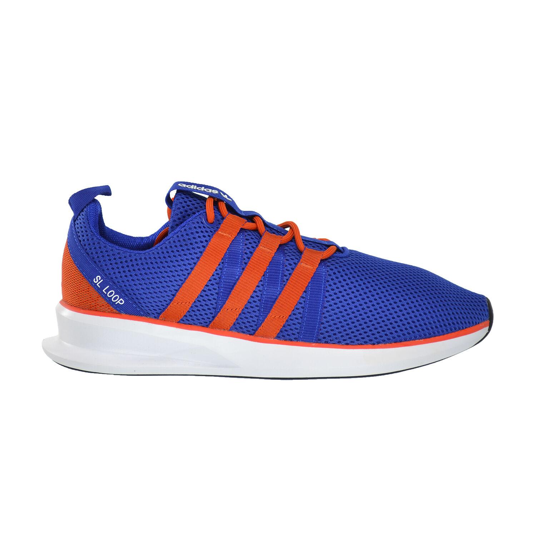 Adidas SL Blue/Core Loop Racer Men's  Running Shoes Bold Blue/Core SL Orange/FTW White d69442 108c3a