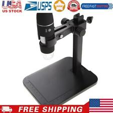 1000x 8 Led 2mp Usb Digital Microscope Endoscopemagnifier Cameralift Stand