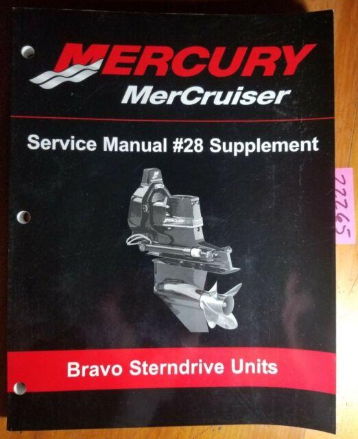 Mercruiser Mercury Bravo Sterndrive Units 0w100000