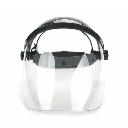 1Pcs PC Safety Protective Cover Head-mounted Face Shield  Clear Screen