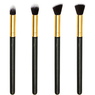 4PCS Professional Eye Shadow Eyeshadow Blending Brush Set Makeup Cosmetic Tools