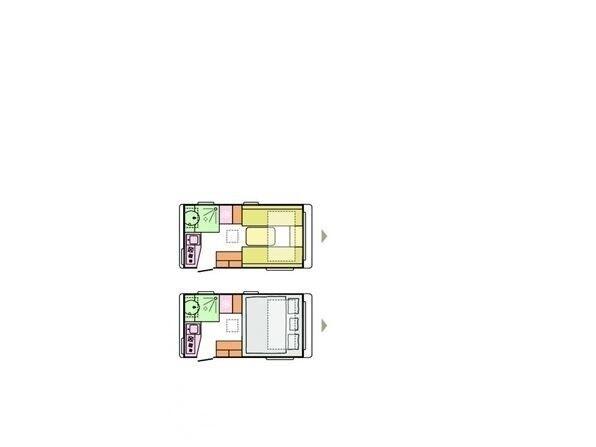 Adria Action 391 LH, 2021, kg egenvægt