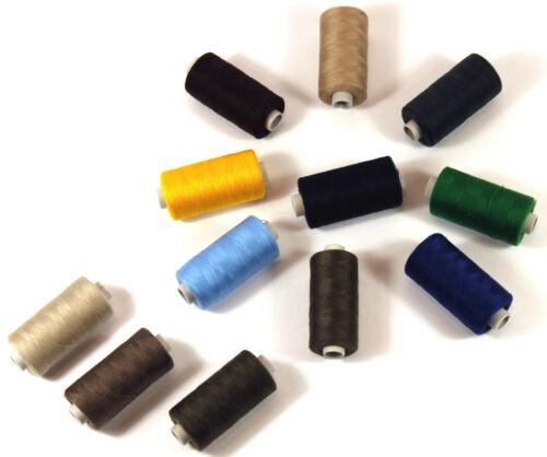 Tissage multicolore 12 x 500m polyester syngarn tout plus proche qualité filterie fils 028
