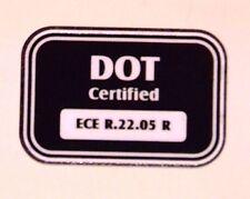 ECE DOT Helmet Sticker Free Postage Biltwell Davida Bell Simpson etc