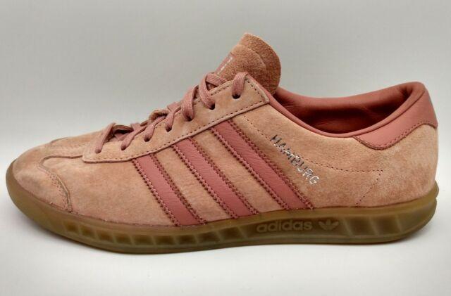 Size 8 - adidas Hamburg Raw Pink
