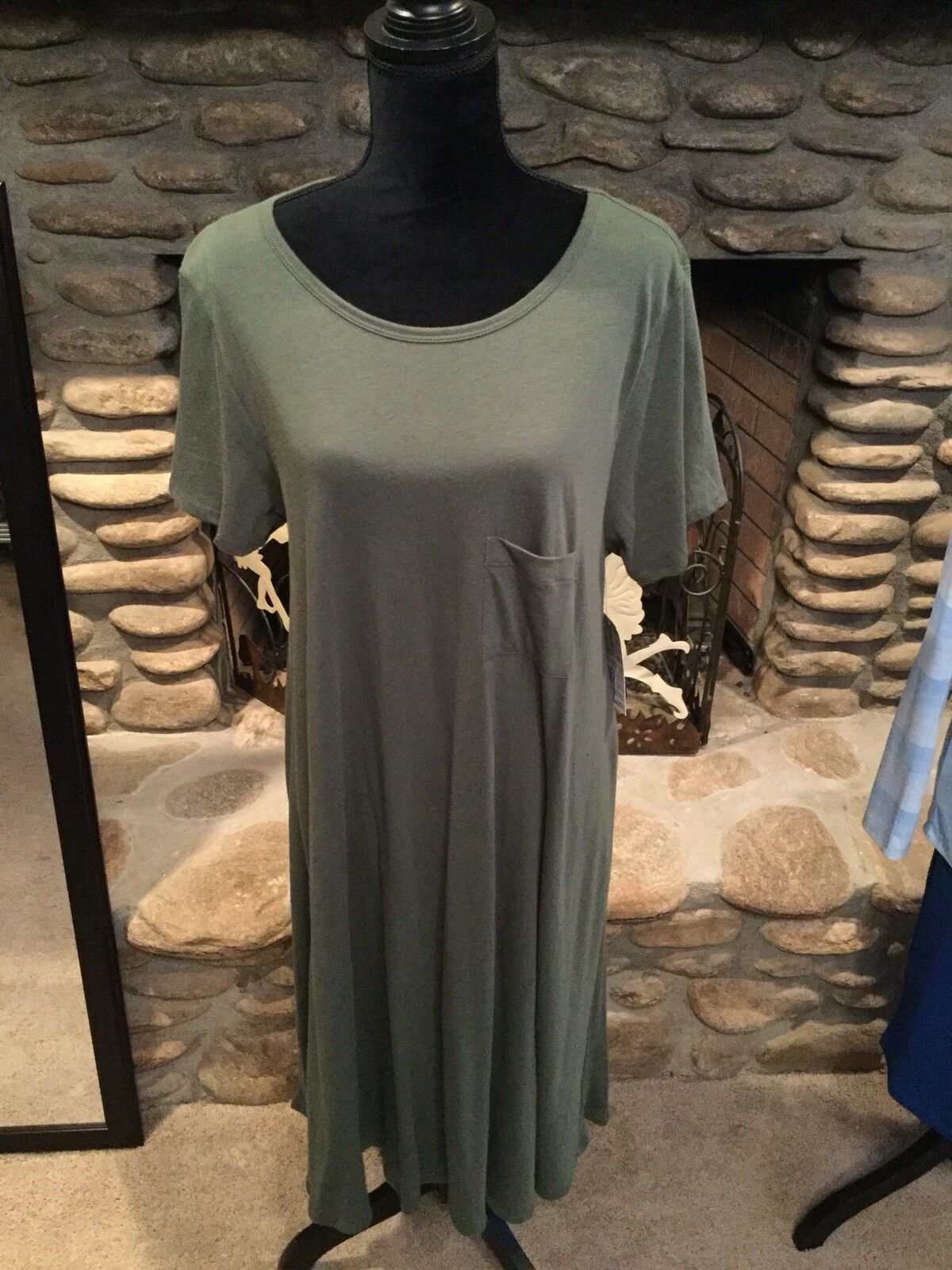 Olive Army Green Carly Lularoe XL  Dress NWT Size Xl