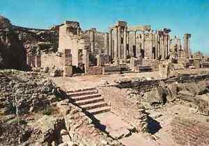 Tunesien-CPSM-Dougga-Ruinen-Roman