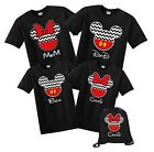 Disney Cruise Disney World Mickey And Minnie Custom T-shirt Family Vacation