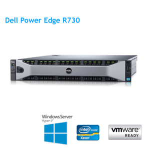 Dell-PowerEdge-R730-2-x-E5-2620-V3-2-40Ghz-6-Cores-64GB-RAM-H730p-2GB