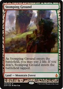Terrain-de-Predilection-FOIL-Stomping-Ground-Zendikar-Expeditions-Magic-Mtg