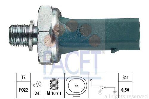OE Equivalent 7.0139 für VW SEAT SKODA FOX FACET Öldruckschalter Made in Italy