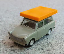 HERPA 024181 H0 1:87 Trabant 601 S Universal mit Dachzelt (Fahrzustand) NEU!