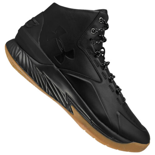 Under Armour Stephen Curry 1 LUX Mid Leather Basketballschuhe 1296616-001 neu