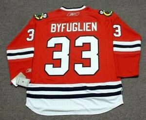 sale retailer df0a7 d2048 Details about DUSTIN BYFUGLIEN Chicago Blackhawks 2010 REEBOK Throwback NHL  Hockey Jersey