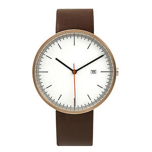 BIJOUONE-Rose-Gold-Brown-Leather-Strap-Casual-Classic-Quartz-luxury-wrist-watch
