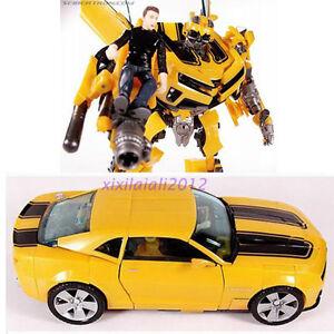 spielzeug transformers bumblebee roboter auto action figure und sam mit box 793207400956 ebay. Black Bedroom Furniture Sets. Home Design Ideas