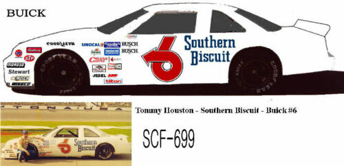 CD/_699 #6 Tommy Houston  Southern Biscuit Buick  1:64 scale decals ~OVERSTOCK~