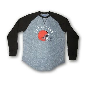 sale retailer 9ea93 34ad1 Image is loading Cleveland-Browns-Men-039-s-Majestic-Gray-Brown-