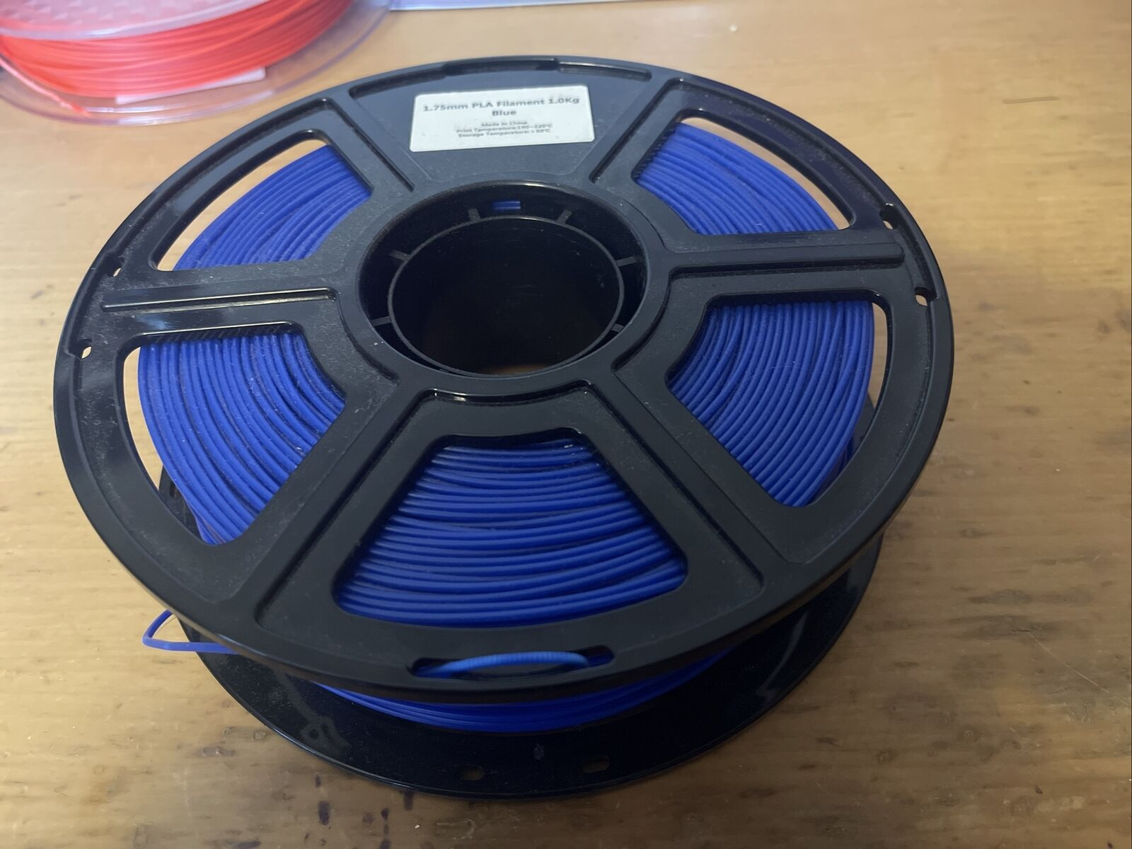 Royal Blue Filament 1.75mm Around 850g On A 1KG Roll