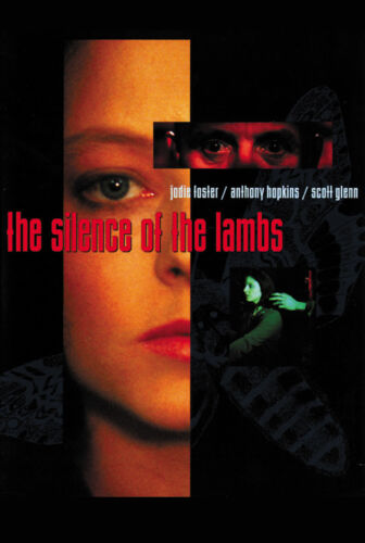 Hopkins Foster movie poster print The Silence Of The Lambs 1991