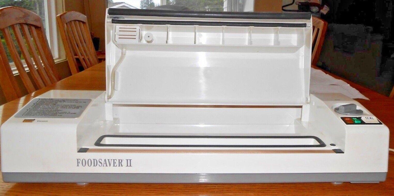 Foodsaver II Flaem made in  vacuum sealer