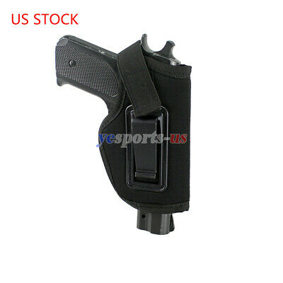 US STOCK Universal Right Hand Pistol Gun Clip Concealed Carry Fits All Revolvers