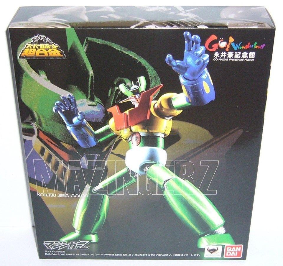 Bandai Tamashii Super Robot Chogokin Mazinger Z KOTETSU JEEG color figure Japan
