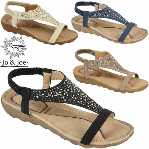 Ladies Flat Low Wedge Sandals Women Summer Beach Fashion Strappy Gladiator Shoes