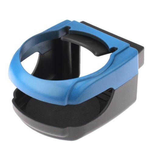 Car Air Vent Outlet Beverage Mount Cup Holder Clip-on Holder Blue