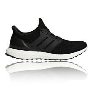 adidas Mens UltraBOOST Running Shoes Trainers Sneakers Black Sports Breathable