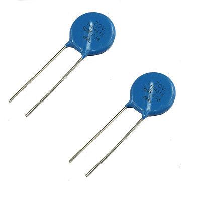 20PCS Varistor 14D431K 14MM 430V Metal voltage dependent resistor Tolerance ±10/%