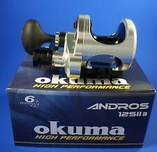 Okuma Andros A-12SIIa 2 Speed Multiplier Sea Fishing Reel 49089 (Right Hand)